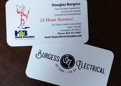 Doug Burgess Business Cards