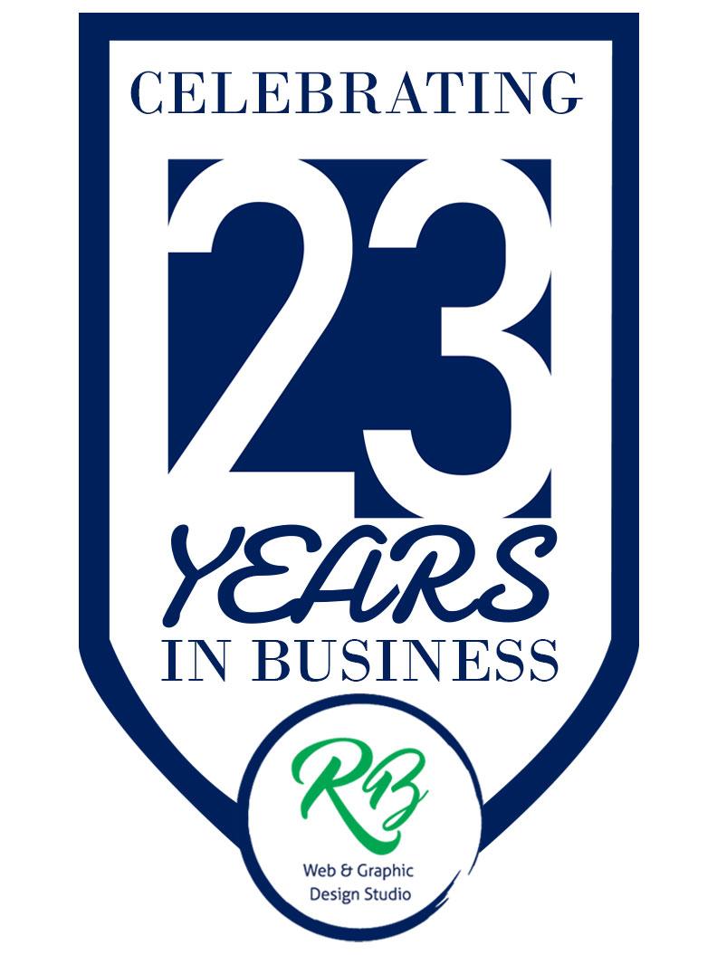 Celebrating 23 Years in Business - RB Design Studio